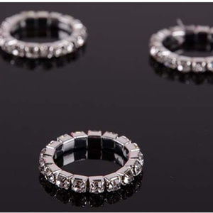 Rhinestone Toe Rings
